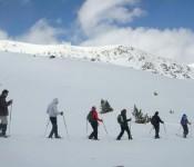 Raquetes de neu, 20 i 21 de Febrer.