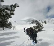 Raquetes de neu, 1 i 2 de Febrer